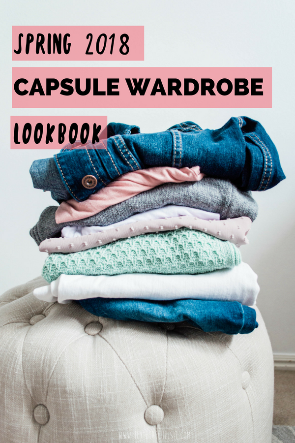 How to create a Spring Capsule Wardrobe for the every day girl // Hey There, Chelsie