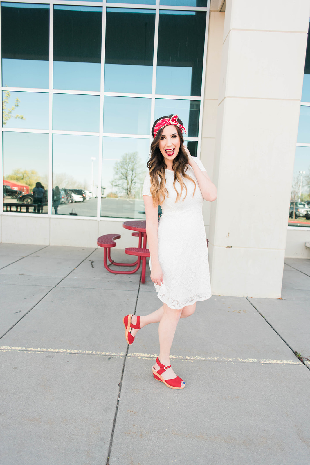 Modest Summer Dress Outfit Idea // Hey There, Chelsie