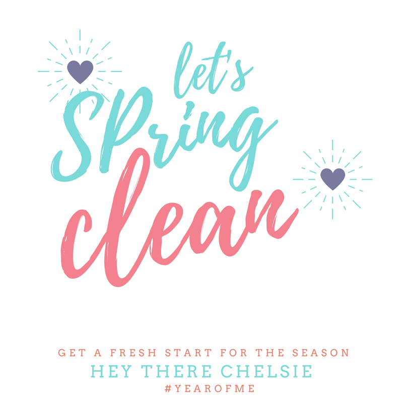 Spring Cleaning Challenge 2018 // Hey There, Chelsie
