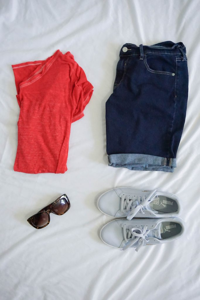 Modest 4th of July Outfit idea // Hey There, Chelsie