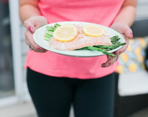 Easy & Healthy Grilled Salmon and Asparagus Recipe