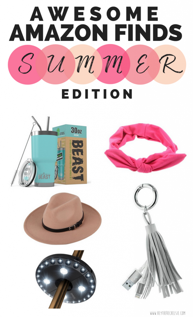 Things to Buy on Amazon for Summer! Here are the five best Amazon Products to buy this summer, during Prime Day! These are affordable fashion and beauty products on Amazon that are must-buys during Amazon Prime Day and beyond // Hey There, Chelsie