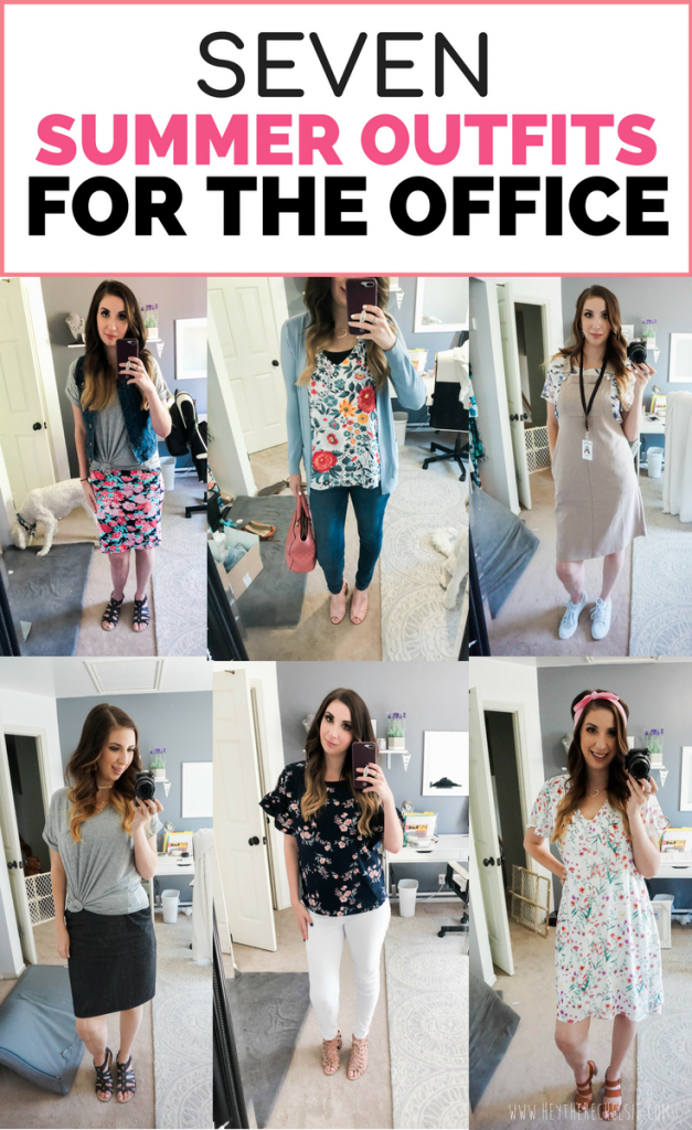 498f523ab1b Need some Summer Outfit ideas for women who work in the office  Here are  seven