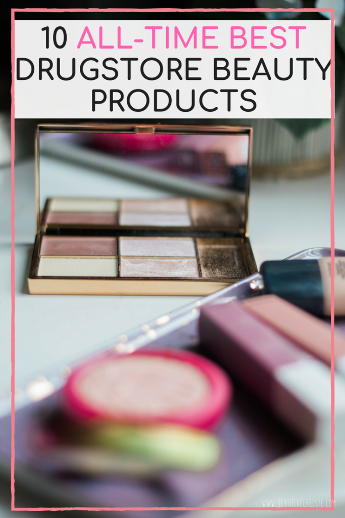 click here to see The 10 BEST Drugstore Makeup Products ! These drugstore beauty products will provide amazing results without breaking the bank. These are affordable must-have beauty products for any makeup lover or makeup beginner // Hey There, Chelsie