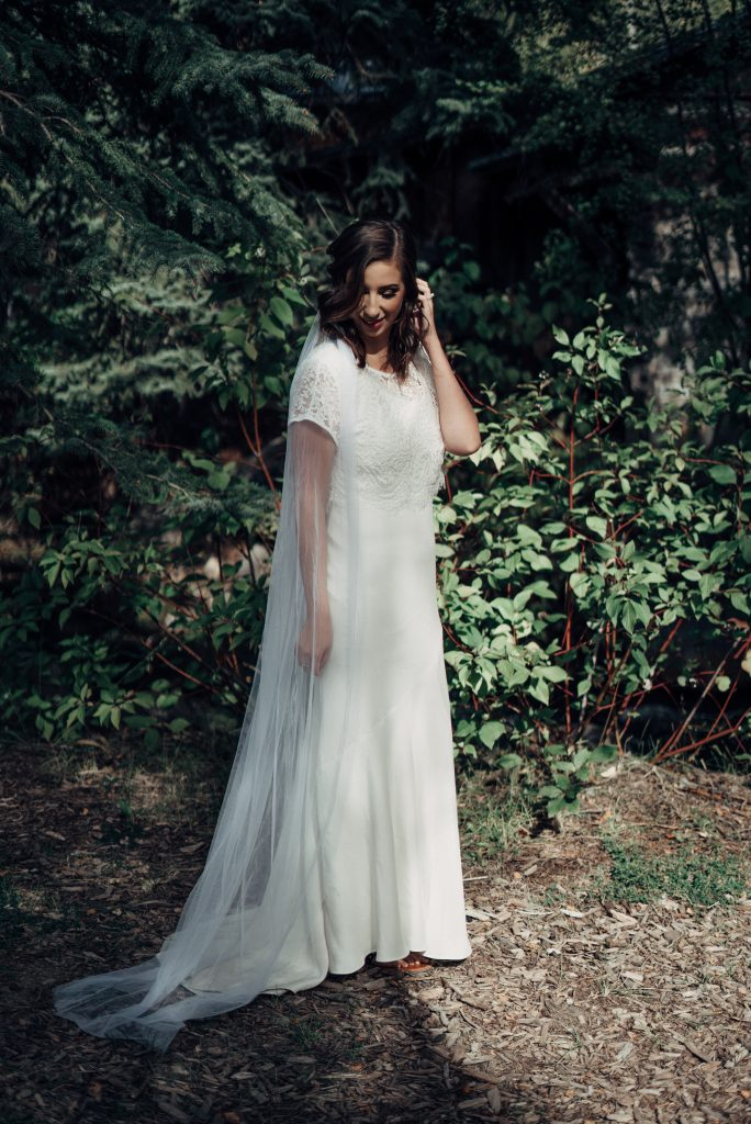 BLANC Bridal - Modest Wedding Dress for the LDS Bride // Hey There, Chelsie