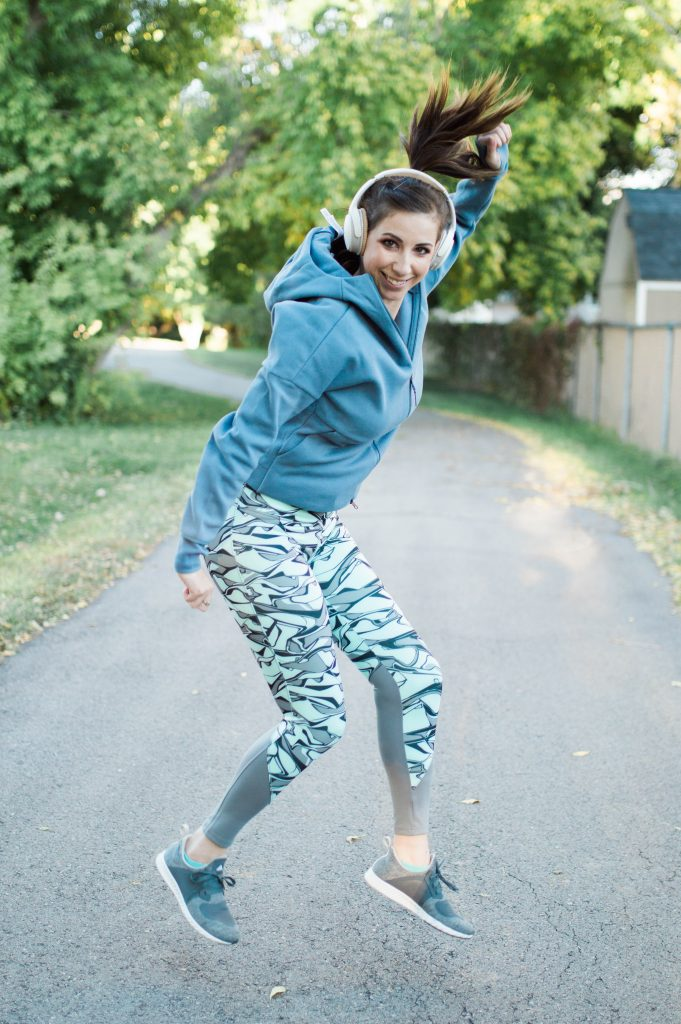 How to find Motivation to Work Out - featuring adidas activewear! // Hey There, Chelsie