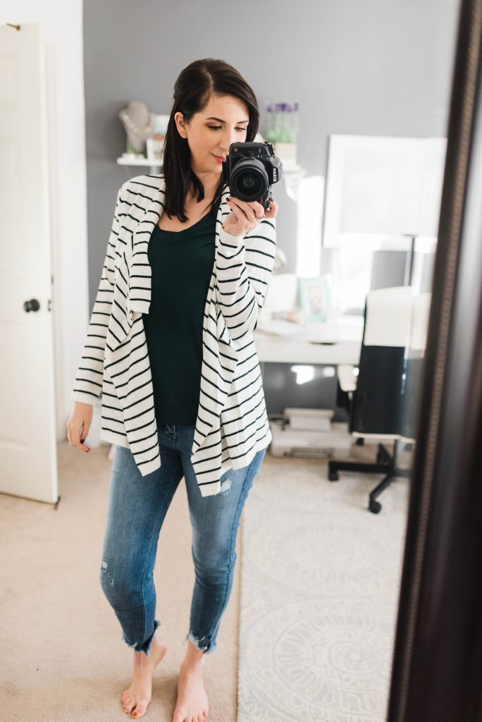 Winter Stitch Fix unboxing, and Stitch Fix Outfit Ideas // Hey There, Chelsie