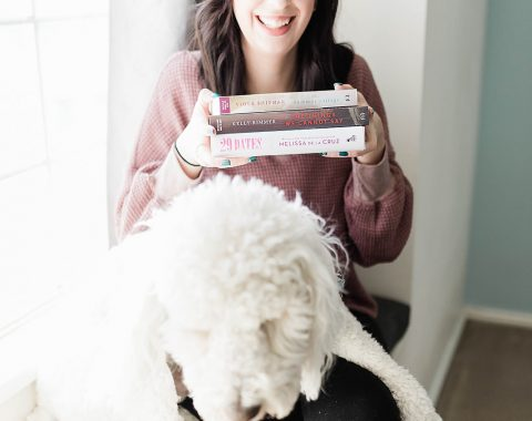 5 Books to Cozy Up with this Spring // Hey There, Chelsie