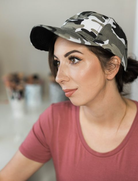 Camo Baseball Hat, perfect for summer! Click here for all of my must-have summer products from Amazon! // Hey There, Chelsie