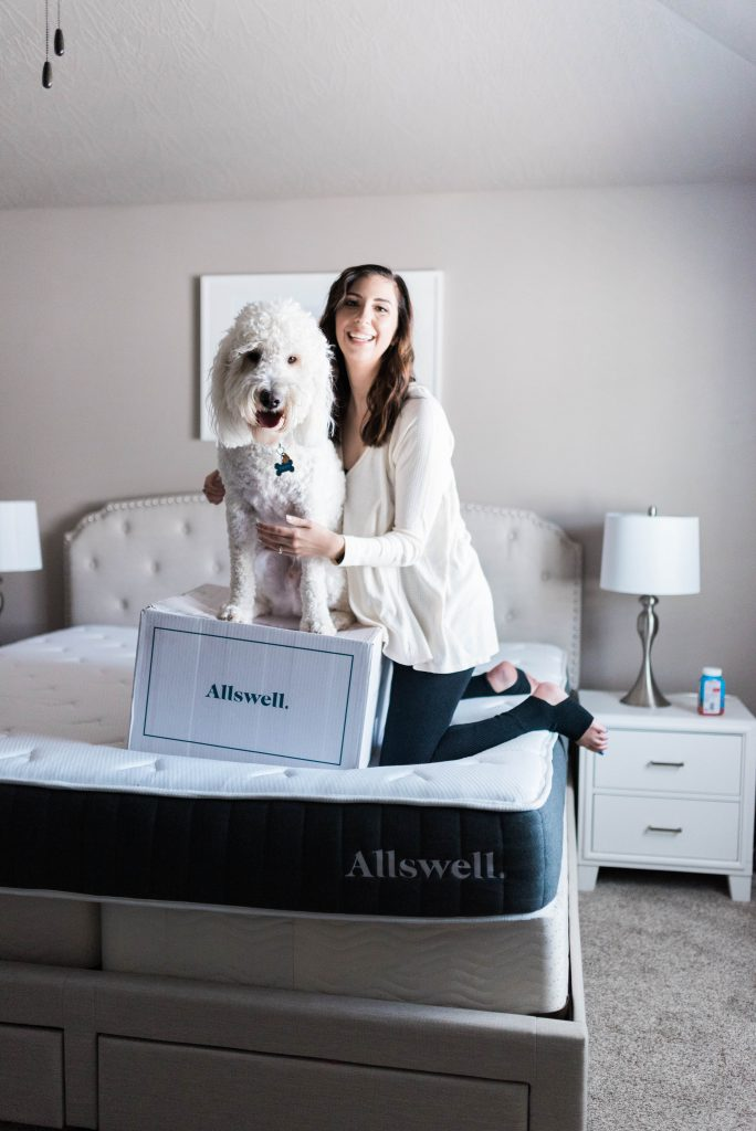 Allswell Mattress review and comparison to Tuft & Needle // Hey There, Chelsie