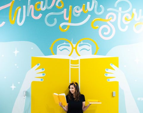 5 Ways to Overcome a Life Setback, featuring photos from the Salt Lake City Love Letters interactive Art Museum // Hey There, Chelsie