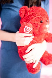 Build-A-Bear exclusive Rose Bear: the perfect gift for Galentine's Day! #ad #GalPalGift #CelBEARate #buildabear